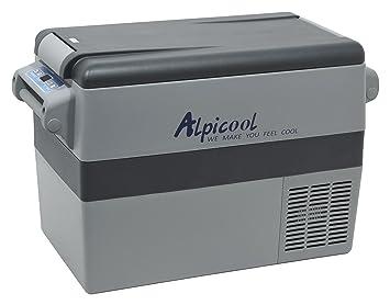 Kühlschrank Für Auto Mit Kompressor : Compass 07087 kühlbox dual mit kompressor 45l 230 24 12v 20°c