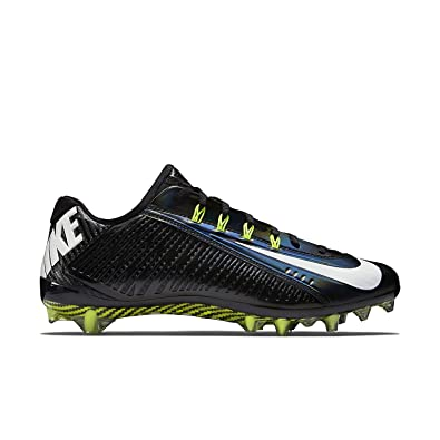 Nike Vapor Carbon Elite TD Mens Football Cleats 14 BlackWhite