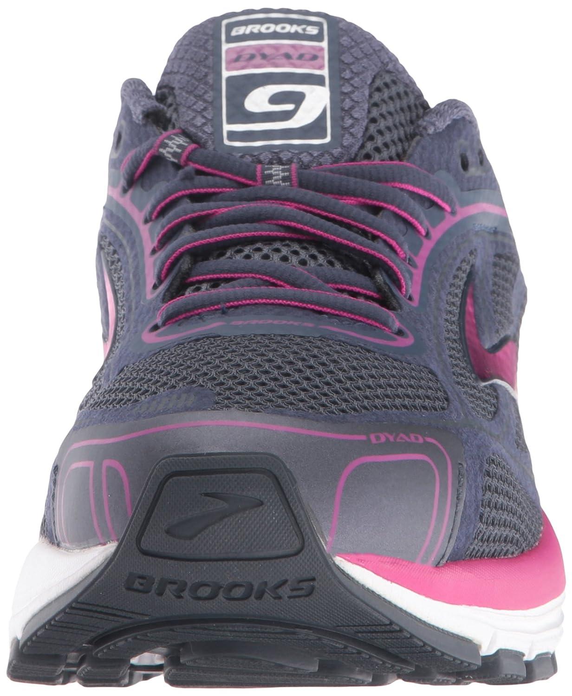 Brooks Brooks Brooks Damen Dyad 9 Laufschuhe Grau (Blau/Pink) 58b661