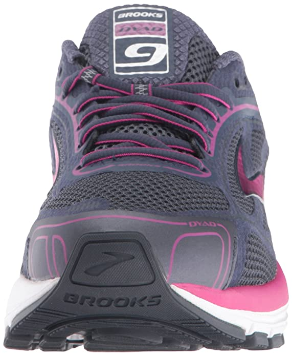 Amazon.com | Brooks Womens Dyad 9 Ombre Blue/Festival Fuchsia/Mood Indigo 8 D US | Road Running