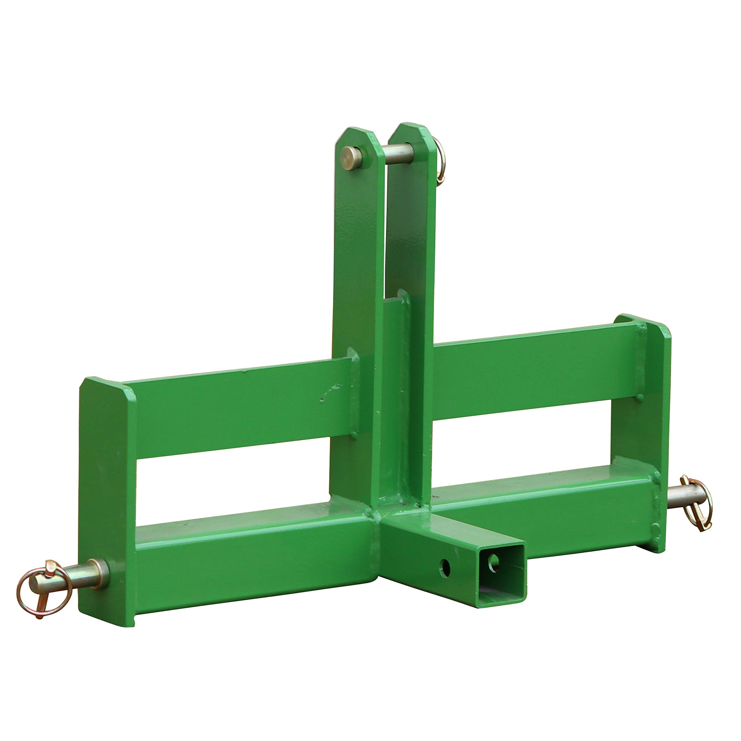 Titan Tractor Drawbar with Suitcase Weight Brackets | 2'' Receiver | CAT 1 3-Pt by Titan Distributors Inc.