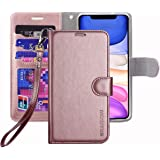 ERAGLOW for iPhone 11 case,Premium PU Leather Wallet Flip Protective Phone Case Cover w/Card Slots & Kickstand for iPhone 11
