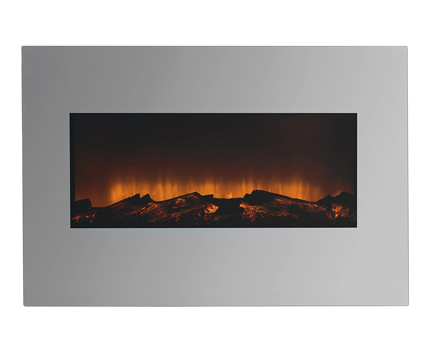 Beldray EH1162AR Porto LED Electric Colour Changing Wall Fire with Floor Stand, 1500 W, Black