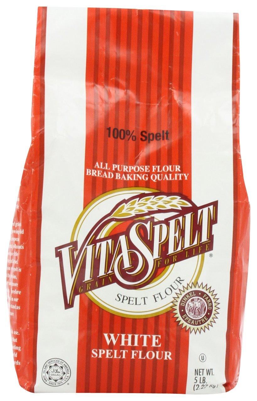 Vita Spelt White Flour, 5 libras