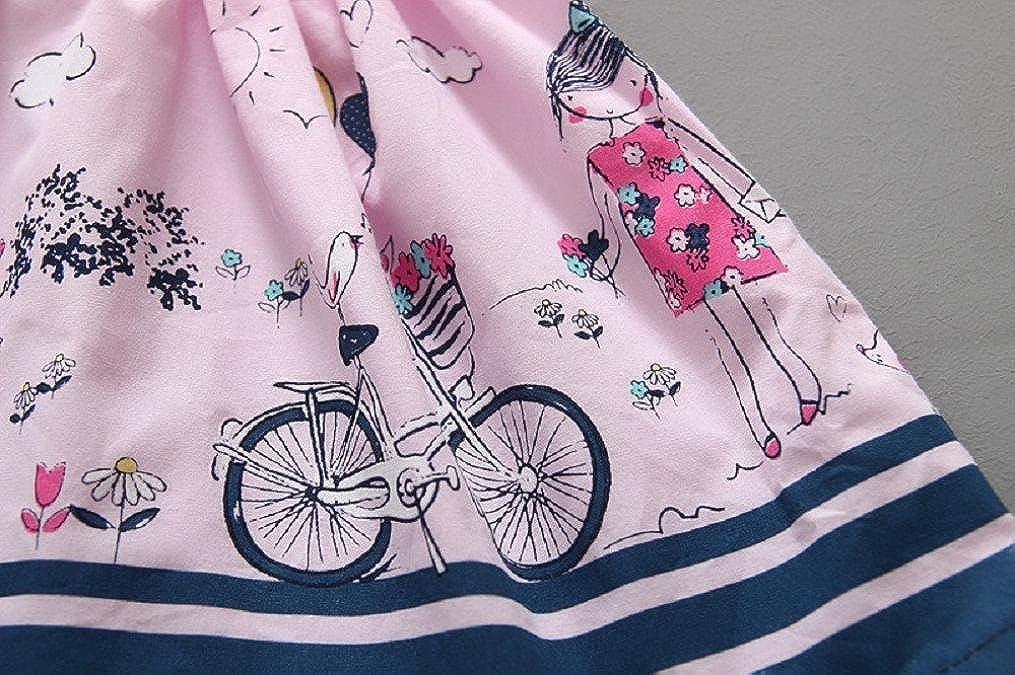 Robe B/éb/é Fille Oyedens Robe De Bapt/ême B/éb/é Fille Princesse imprim/ée Robe Fille Mode Vetement Bebe Fille Ete Robe De Soir/ée Fille Robe Princesse Enfant Fille Tutu Robes Bebe Fille