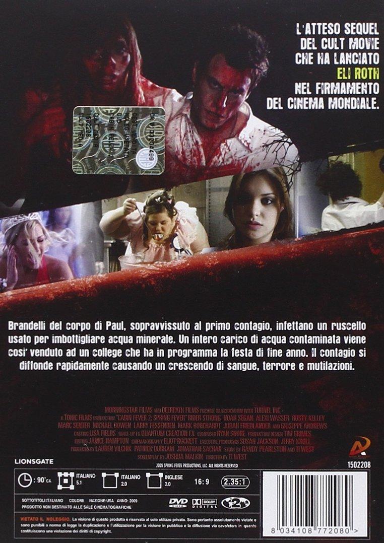 Cabin Fever 2 - Il Contagio - Unrated: Amazon.it: Strong,Segan,  Strong,Segan: Film e TV