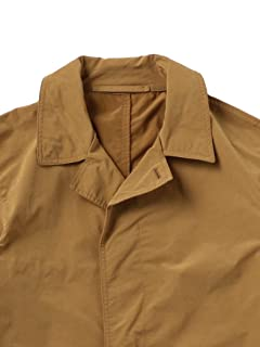 Polyester Nylon Bal Collar Coat 1125-133-6637: Brown