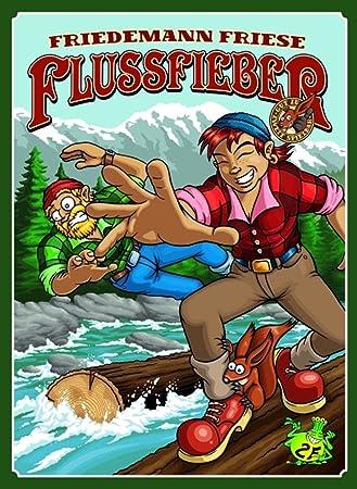 2F-Spiele 2FS00012 Flussfieber - Juego de Mesa con Tablero, Cartas y fichas (Contenido en alemán): Amazon.es: Juguetes y juegos