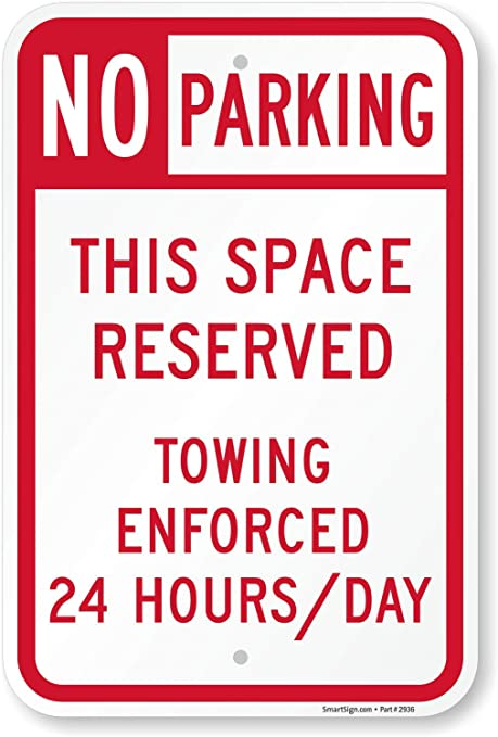No Parking Do Not Block Gate Vehicle Towed At Owner Expense Home Decor Sign Metal Sign for Outdoor Yard Safety Sign