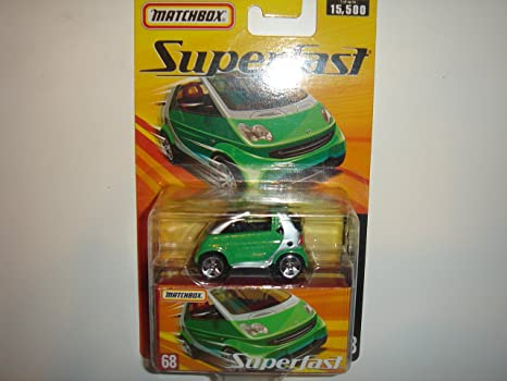 Amazon 2005 Matchbox Superfast Smart Fortwo Cabrio Greensilver