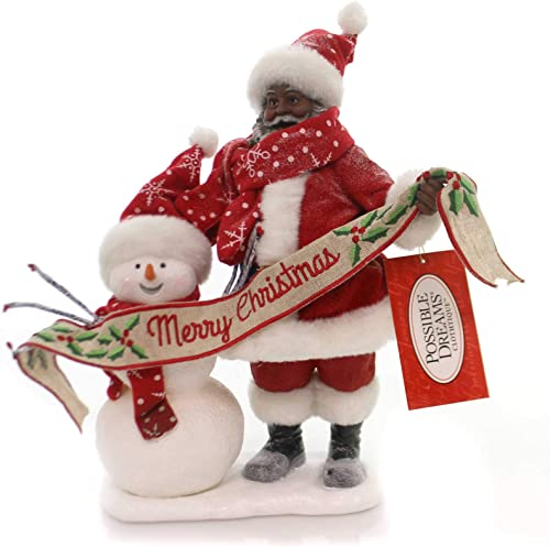Department 56 Possible Dreams Santa Claus In The Meadow AA Clothtique Figurine, 10.5