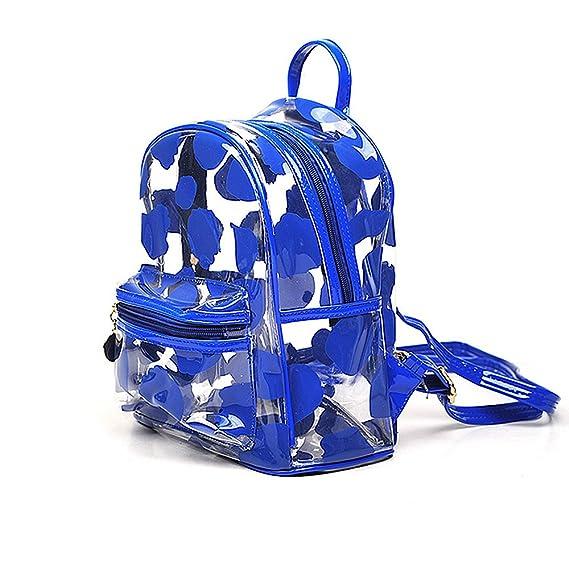 Amazon.com  PVC Backpack School Backpack Outdoor Backpack Cute Knapsack  Satchel 9e8c80faf9e66