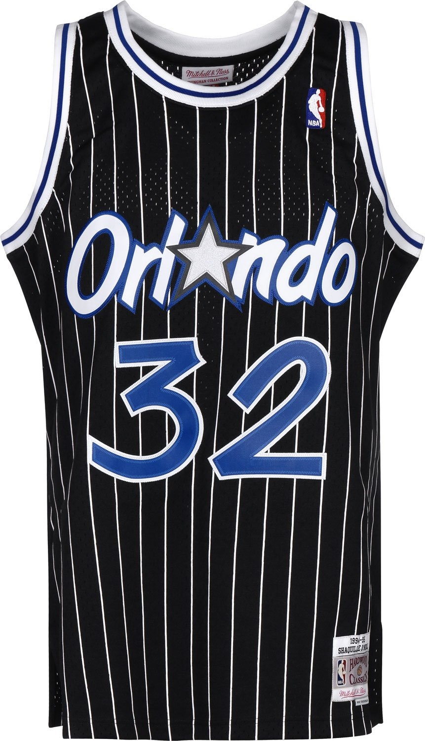 07cc7409dff Mitchell   Ness Shaquille O Neal  32 Orlando Magic 1994-95 Swingman NBA  Jersey Black  Amazon.co.uk  Sports   Outdoors