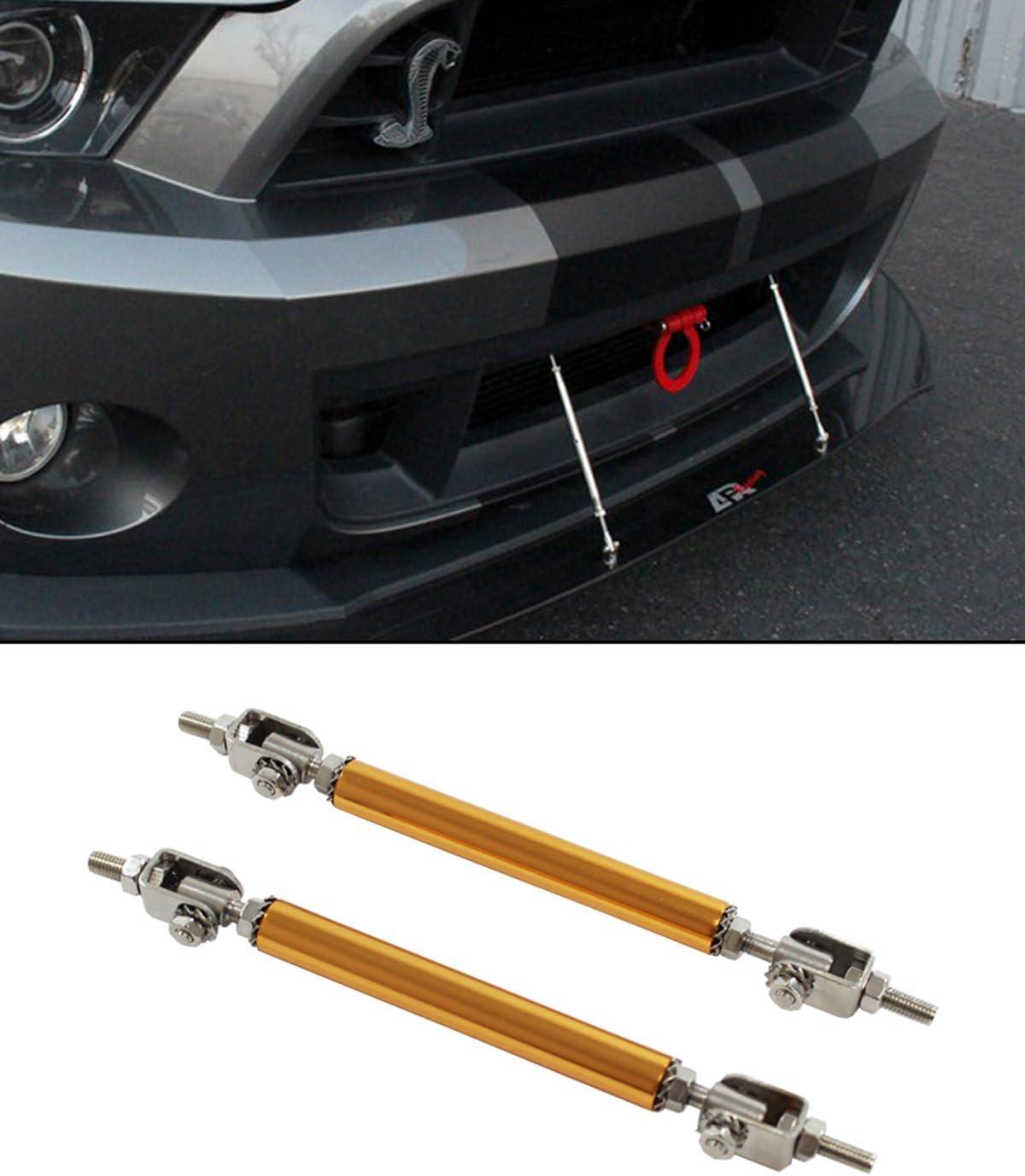 Red Front Rear Frame Bumper Protector Rod Splitter Strut Tie Bars 140mm-200mm