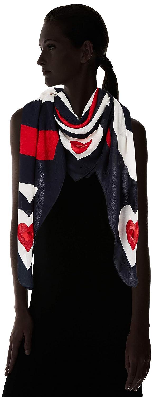 Tommy Hilfiger Mascot Heart Square Corporate 901 Pa/ñuelo Mujer Azul Talla /única Talla del fabricante: OS
