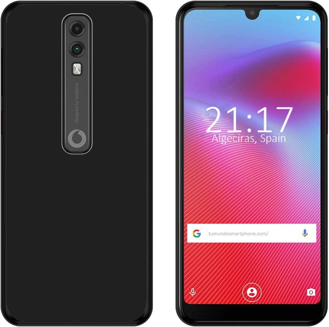 Funda Gel TPU para Vodafone Smart V10 Color Negra: Amazon.es ...