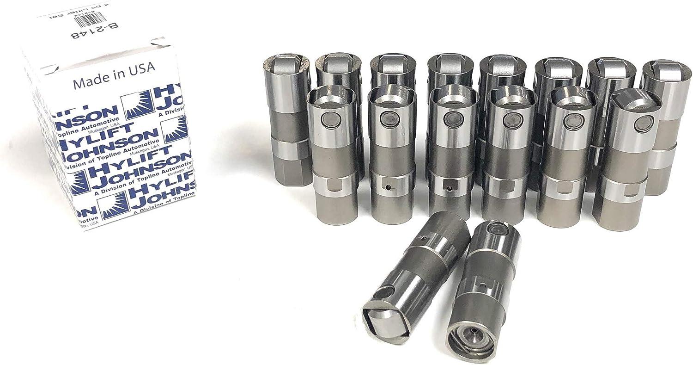 LS1 LS3 4.8L, 5.3L, 5.7L, 6.0L, 6.2L LS7 Hydraulic Roller Lifters GM LS2