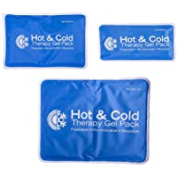 Roscoe Reusable Cold Pack and Hot Pack – Ice Pack For Knee, Shoulder, Back, Injuries...
