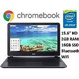 Acer CB3-531 15.6 Premium Chromebook PC (2016), Intel Celeron Dual-Core Processor, 2GB Memory, 16GB SSD, Bluetooth 4.0, Wifi, HDMI, Chrome OS