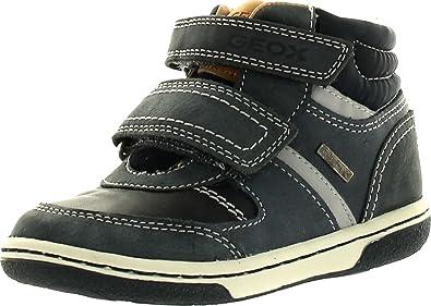 Super günstig am besten wählen großer Rabatt Amazon.com: Geox Boys Flick B Infants Fashion Sneakers,Dark ...