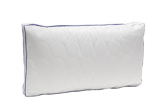 Pikolin Home - Almohada con muelles de espuma viscoelástica, alta capacidad de aireación de algodón 3D, 40x70cm, altura 14cm (Todas las medidas)