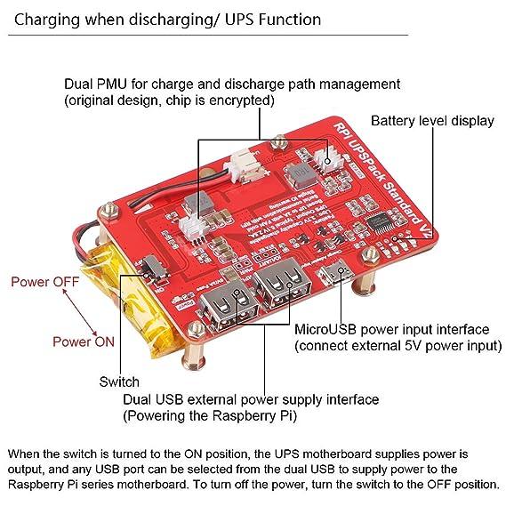 Amazon.com: Makerfocus - Batería de litio para teléfono ...