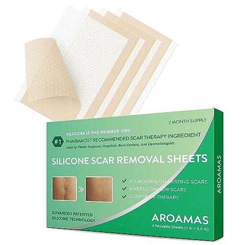 药剂师推荐,Aroamas 专业祛疤凝胶贴