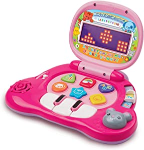 VTech Baby's Light-Up Laptop, Pink