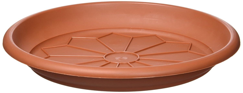 VECA–Naxos Plate 20cm (Mac 25) Terracotta e.25