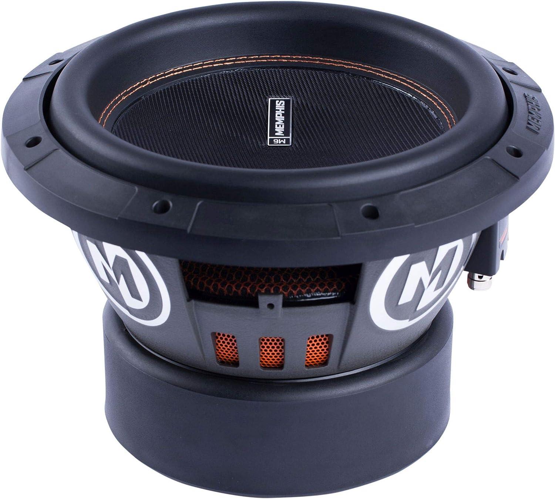amazon com memphis audio 15 m612d2 12 dual 2 ohm component subwoofer car electronics memphis audio 15 m612d2 12 dual 2 ohm component subwoofer