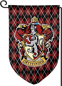 Juhucc Gry-ffindor Garden Flag Campus Flag,Lndoors Outdoors American Flag Banner car Flag 12.5x18in