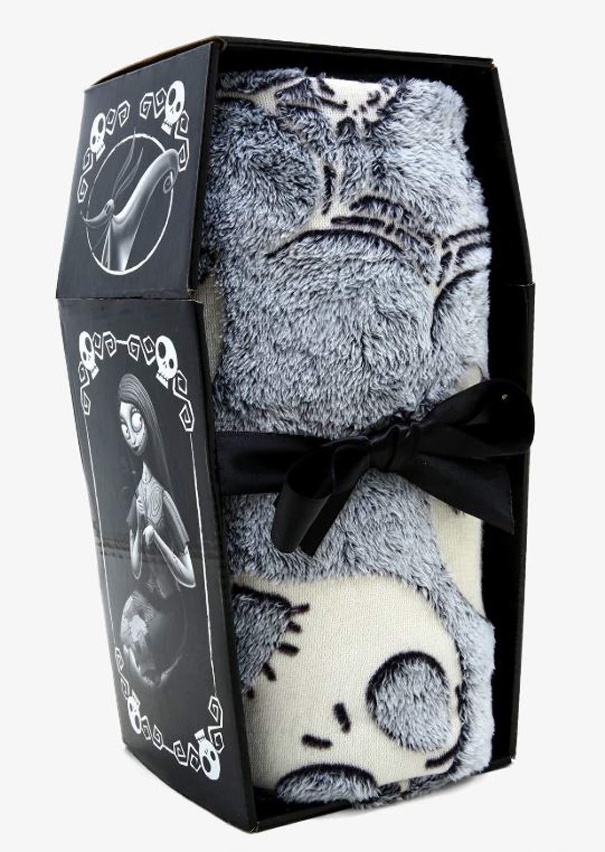 The Nightmare Before Christmas Blanket! Measures 48 x 60 Inches! Glow-in-The-Dark Jack & Spider Throw Blanket! Kids Bedding Features Jack Skellington & Spiders! by The Nightmare Before Christmas