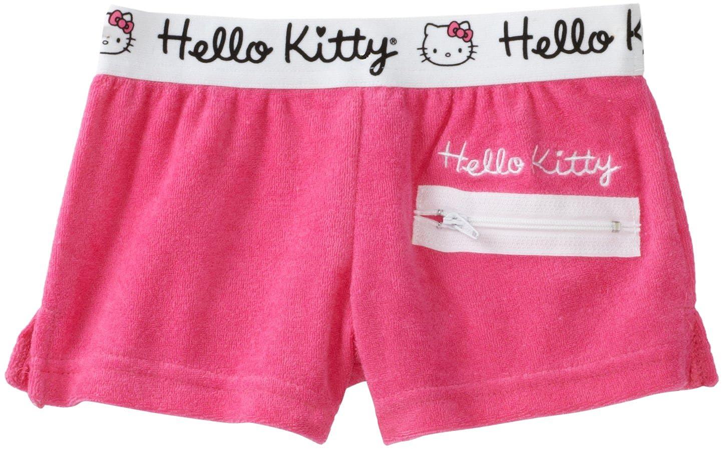 Hello Kitty Big Girls Big Terry Short