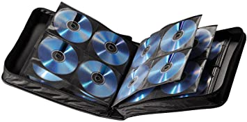 Hama CD Tasche schwarz: Amazon.de: Computer & Zubehör
