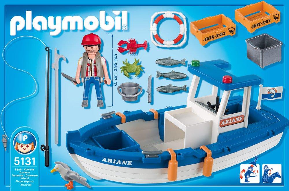 bateau de peche playmobil