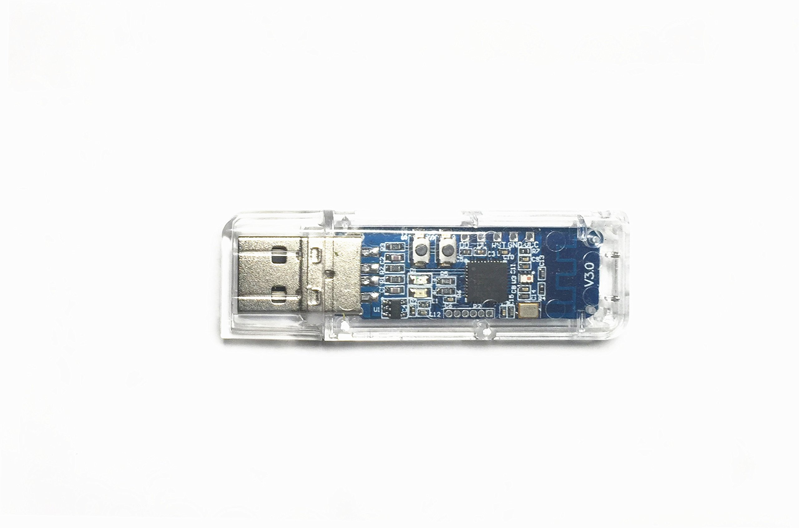 EZSync CC2540 Evaluation Module USB Dongle, BLE Bluetooth 4.0, CC2540EMK-USB compatible, Configured as PACKET SNIFFER by EZSync