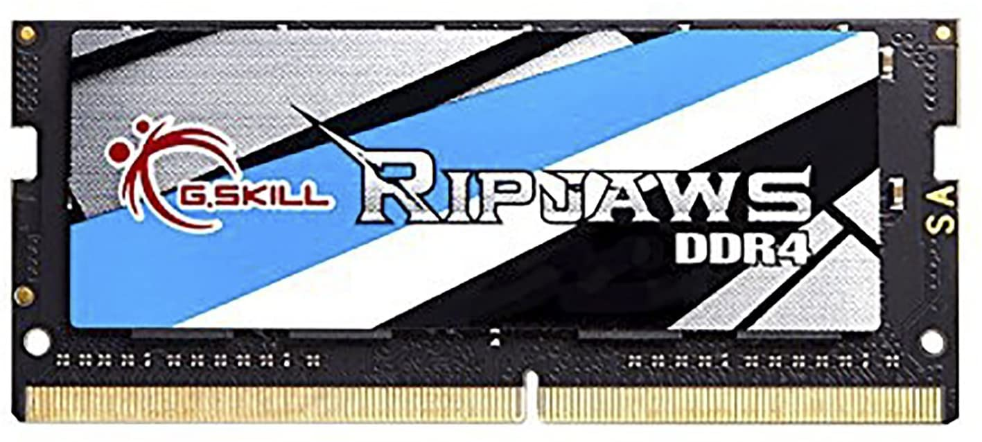 G.Skill 8GB 2400MHz DDR4 SO-DIMM Laptop Memory Module (CL16) 1.20V PC4-19200 Ripjaws DDR4 Series
