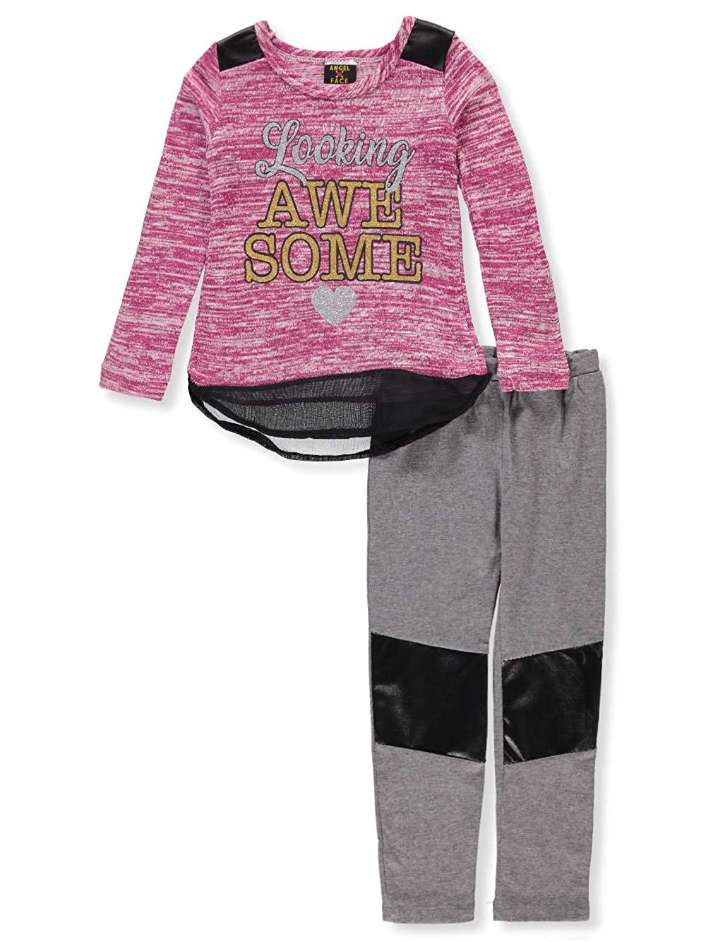 Angel Face Girls' 2-Piece Leggings Set Outfit