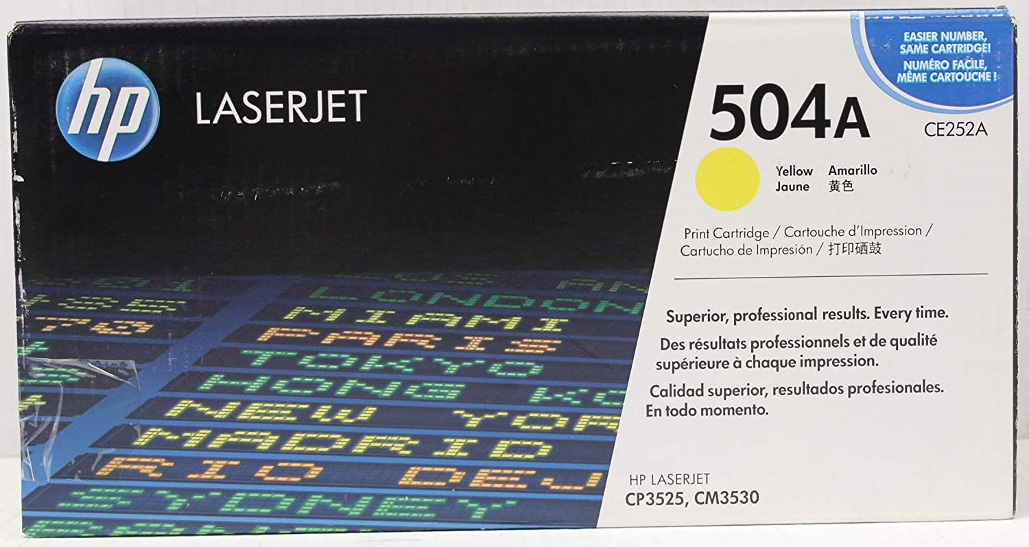 HP 504A | CE252A | Toner Cartridge | Yellow