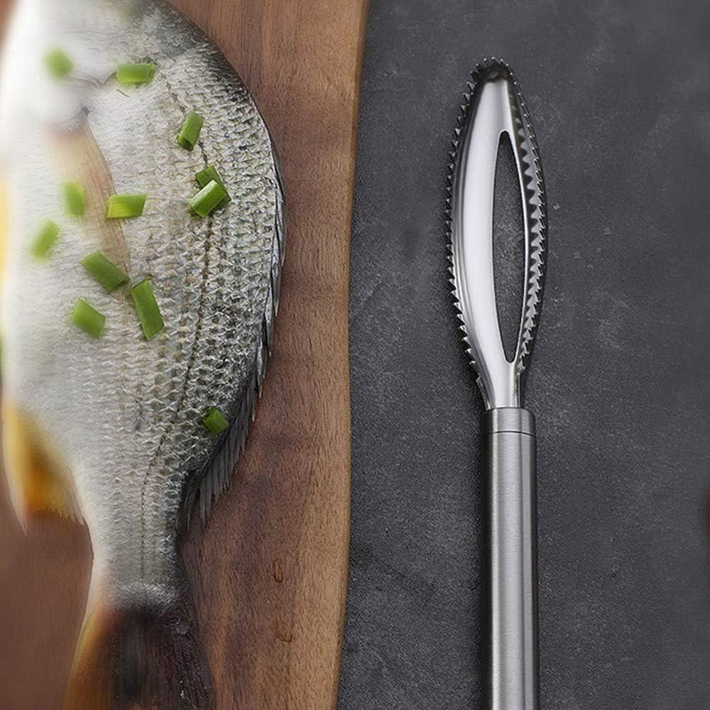Edelstahl Fischentschupper Fischschupper Fisch Entschupper Fischschaber mit