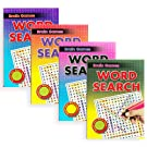 Set of 4 A5 Brain Games Word Search Books