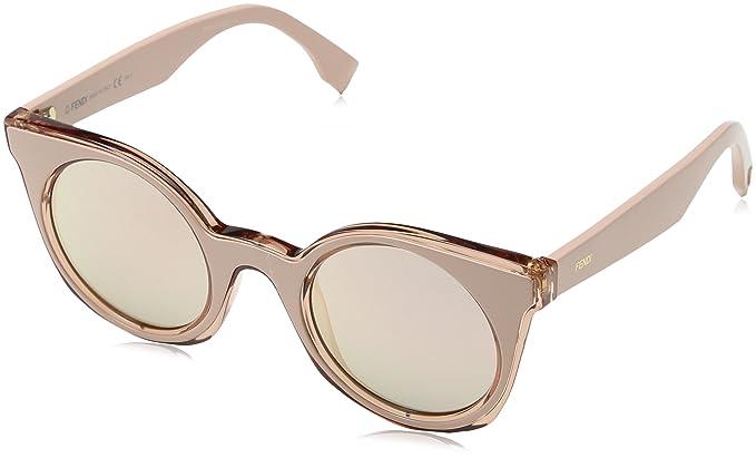 7383944fd9de Fendi Women's Ff 0196/S 0J Sunglasses, Pink, 48: Amazon.co.uk: Clothing