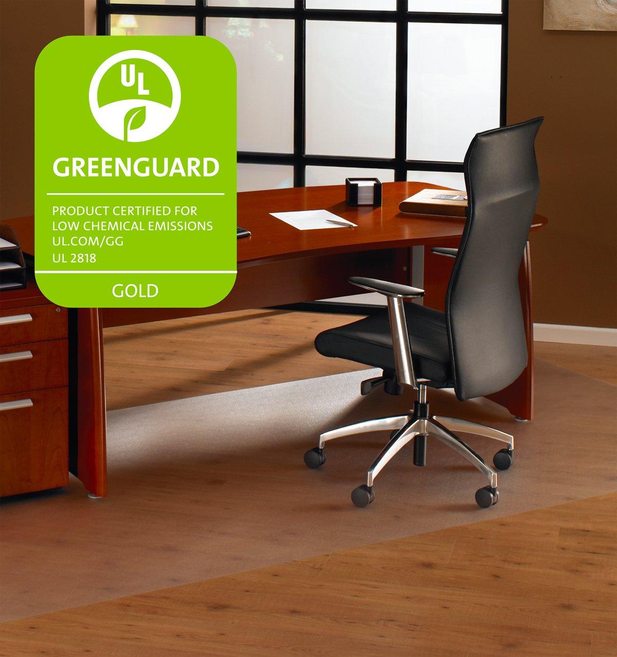 floortex polycarbonate chair mats for deep pile carpets rectangular