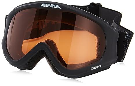 Amazoncom Alpina Driber Goggles Black Sports Outdoors - Alpina goggles