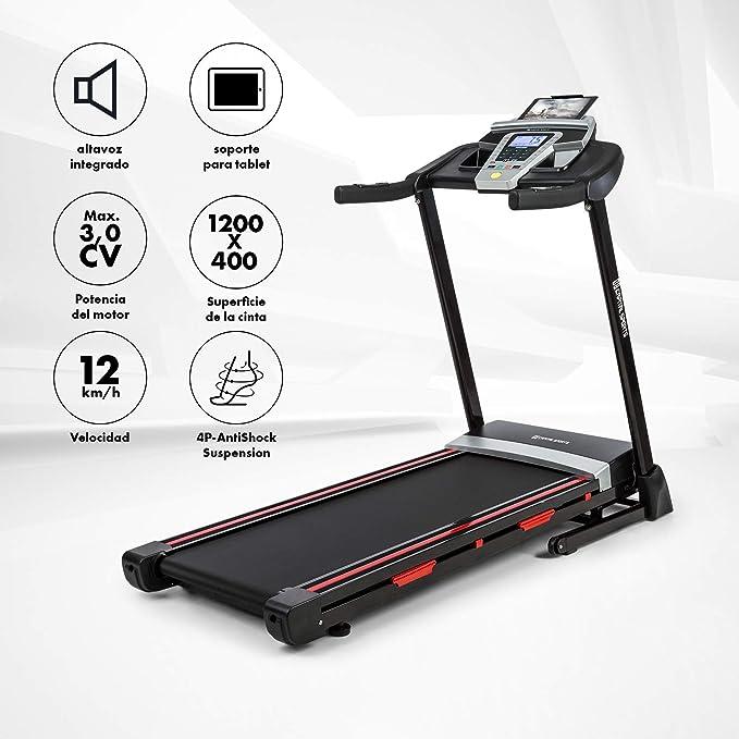 Capital Sports Pacemaker F80 Cinta de Correr - Cinta ergométrica ...