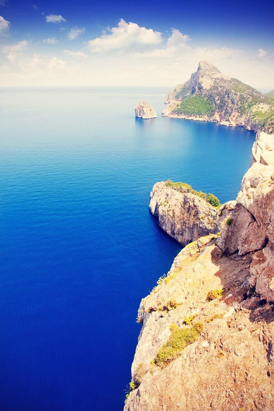 Bilderdepot24 Fototapete selbstklebend Cap de Formentor Mallorca 150x225 cm Wandbild Wohnzimmer Landschaftsbild