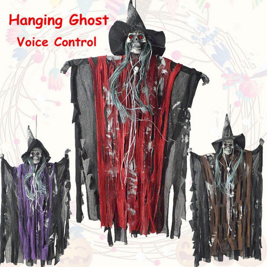 Amazon.com: Decoración de Halloween Horror Props Porche ...