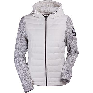 cb206b420d8ca7 Superdry Sweater & Fleece Sweatjacken Superdry Storm Hybrid Ziphood  G20001pp- Lz3 White/Grit Grey