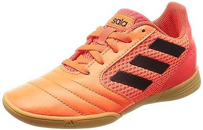 best sneakers 2e512 d8877 adidas Jungen Ace 17.4 Sala J Fußballschuhe, Mehrfarbig Orangecore  Blacksolar Red