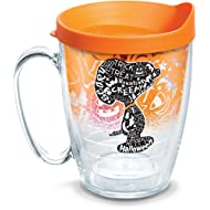 Tervis 1290783 Peanuts-Halloween Collage Insulated Tumbler, 16 oz, Clear